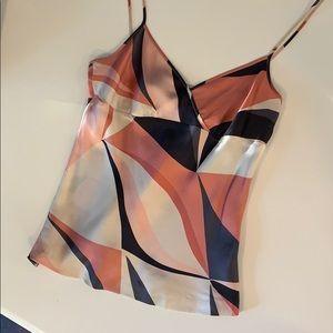 🔻4/$20🔻Theory | Silk Geometric Camisole